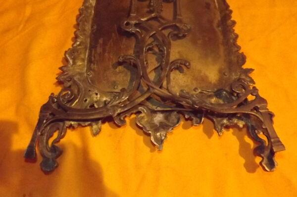 Glace de toilette bronze 19 ème de style Louis XV