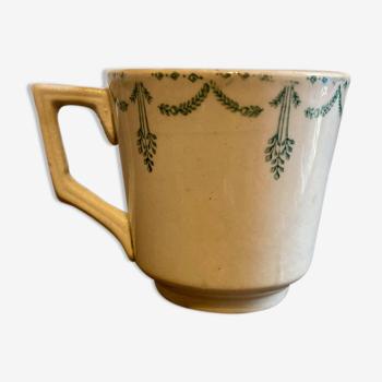Tasse porcelaine opaque Gien