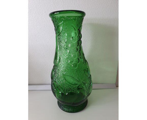 """Vase moulé """"Bambicho Marseille"""" vert"""