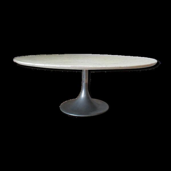 Table basse en resine