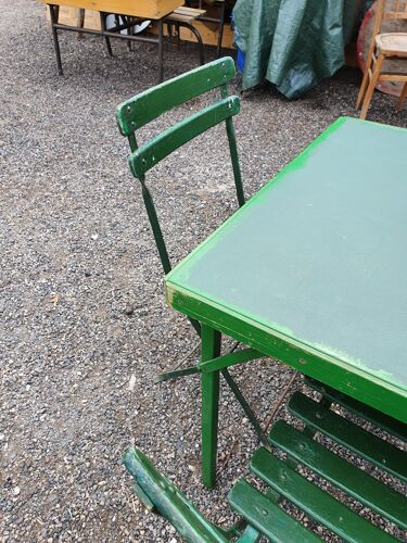 Salon de jardin vintage