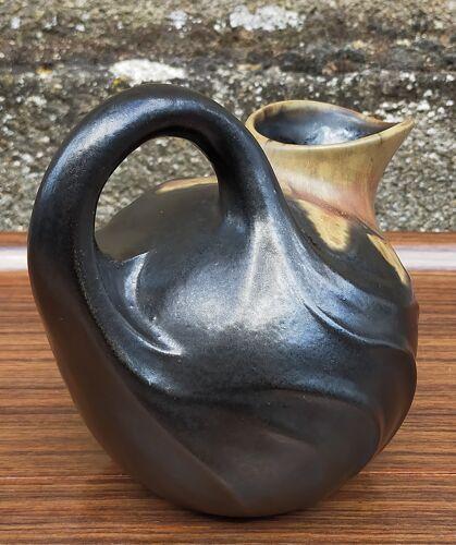 Pichet céramique française art-nouveau début XXème