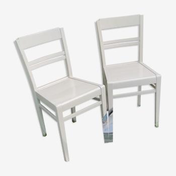 Duo de chaises vintages