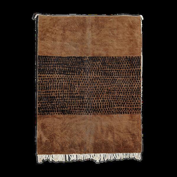 Tapis marocain marron - 300x240cm