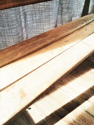 Banc en bois