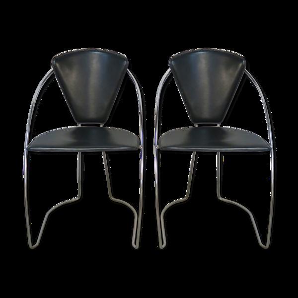 Paire de chaises Arrben