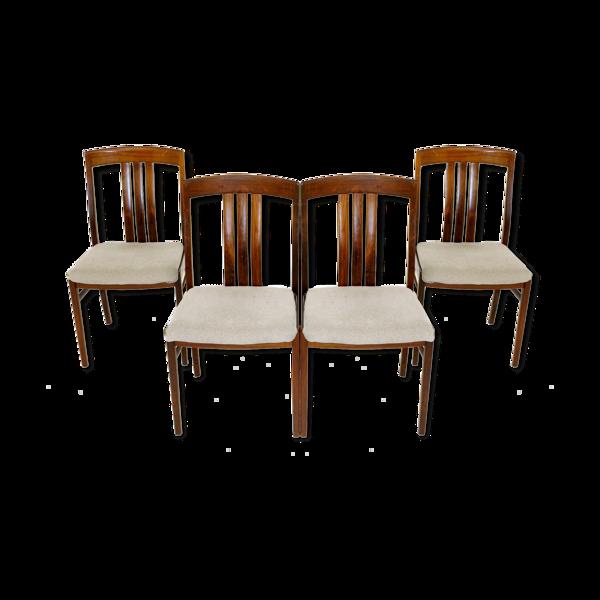 Set de chaises de table en palissandre, Suède, 1960