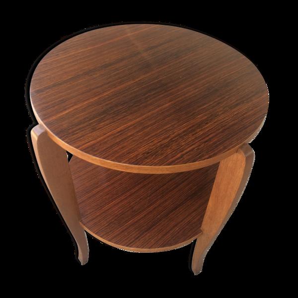 Selency Table art deco en palissandre