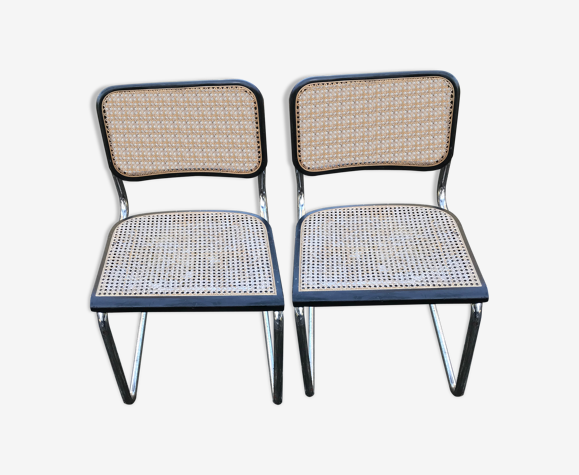 Paire de chaises B32 Marcel Breuer