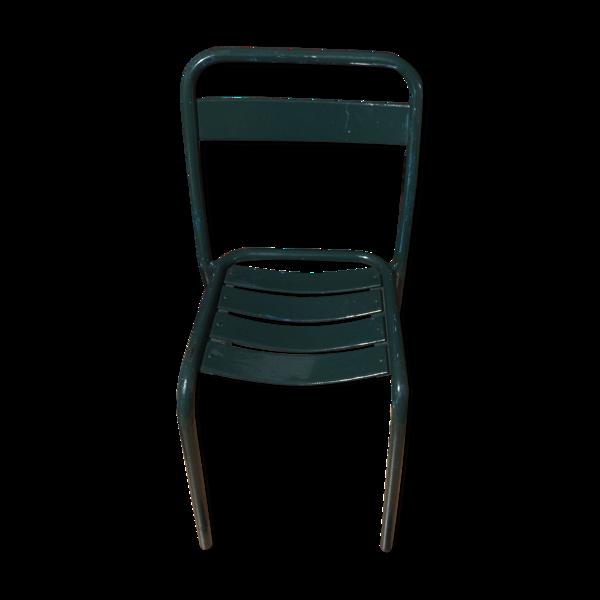 Chaise en métal tolix