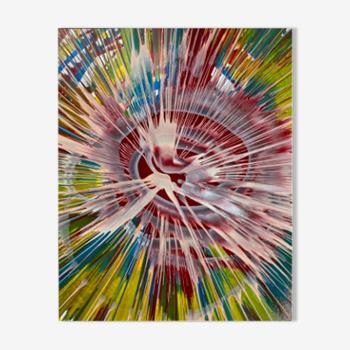 Variations colorées - expulsion cinétique n°2