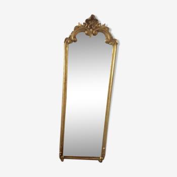 Miroir rectangulaire ancien 105x40cm