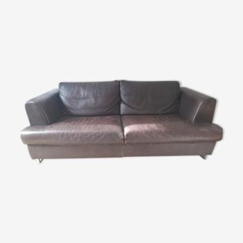 Rosini Divani leather sofa