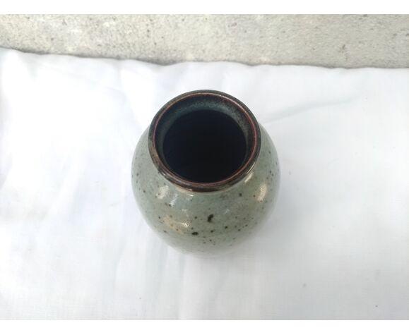 Vase en terre cuite vernissée