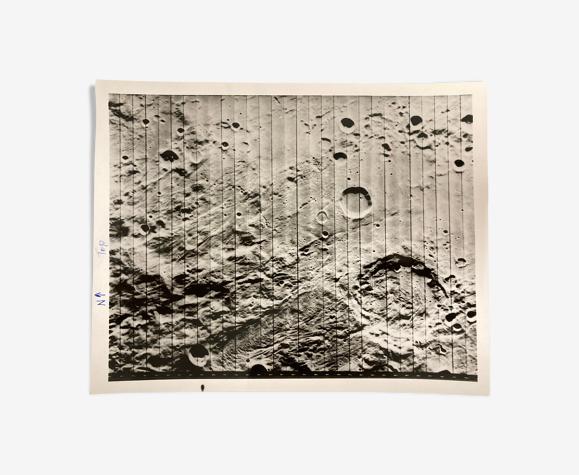 Photographie de la lune original Nasa