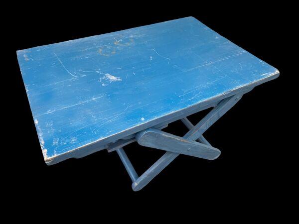 Table basse réglable vintage
