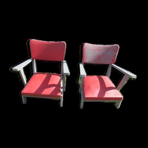 Set de 2 fauteuils