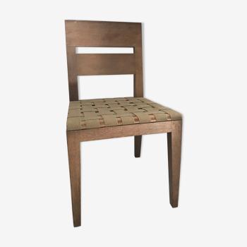 """Chaise """"archipel"""" de Christian Liaigre"""