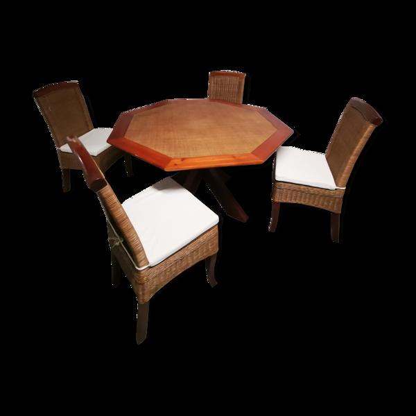 Table avec 4 chaises maison du monde
