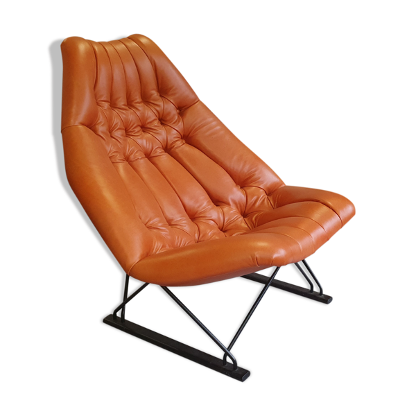 Selency Geoffrey Harcourt F592 prototype armchair for Artifort 1963