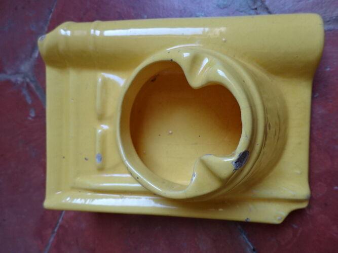 Set de 2 cendriers tuiles anciens