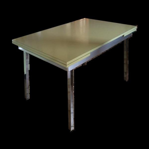 Table en formica art déco
