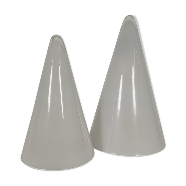 Paire de lampes teepee