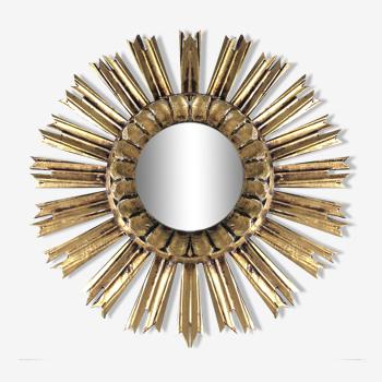 Miroir soleil oeil de sorcière 45cm