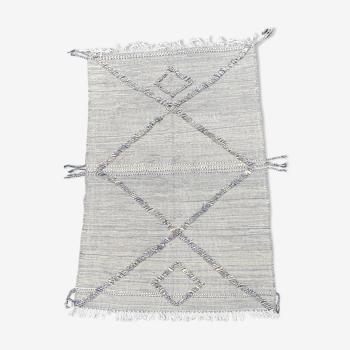 Tapis berbere kilim en laine 185x300 cm