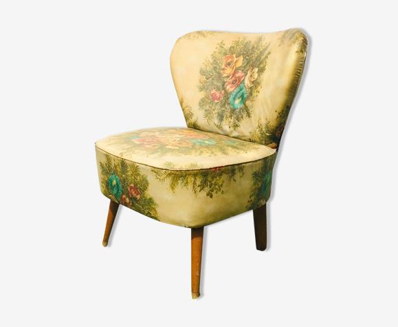 Cocktail armchair flowers 50/60