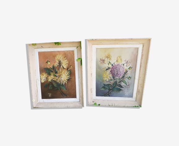 Tableaux de fleurs