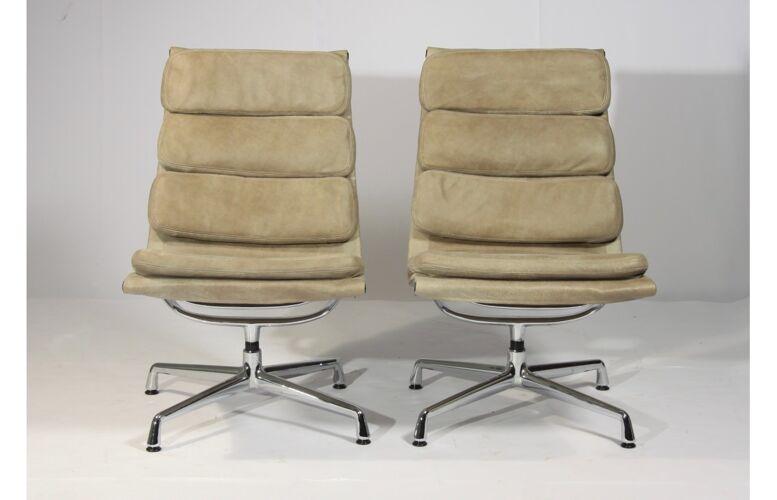Fauteuil de bureau par Charles Eames pour Vitra, 1960s