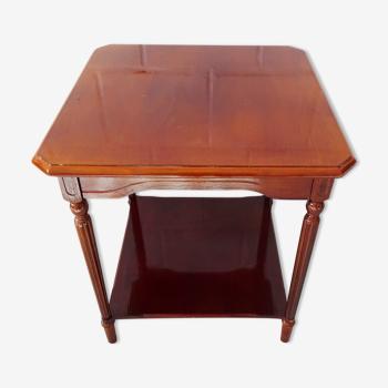 Table d'appoint en bois laqué