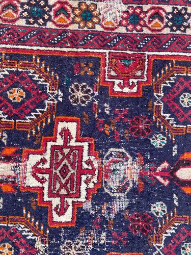 Tapis vintage persan balutch fait main 90x175 cm