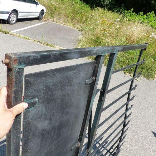 Portail en métal largeur 3 metres