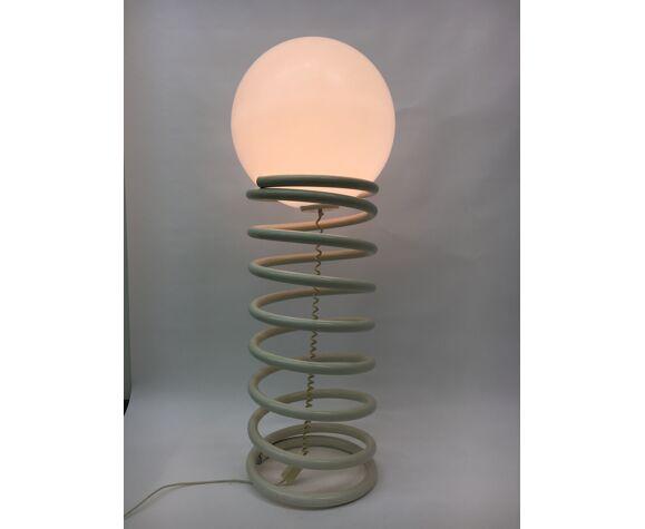 Lampadaire spirale Woja design hollandais, années 1970