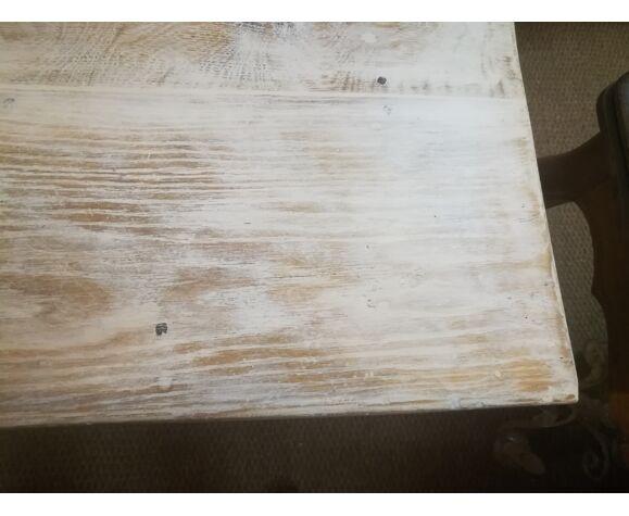 Table de ferme patinée