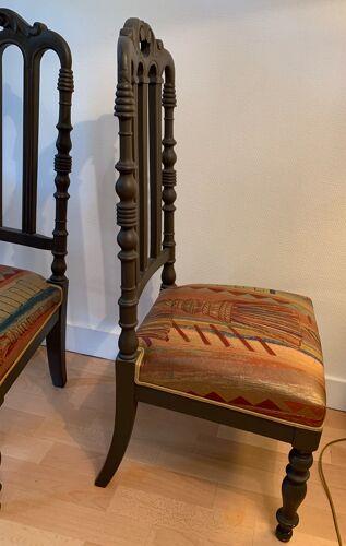 Paire de chaises de nourrices du XIX siècle