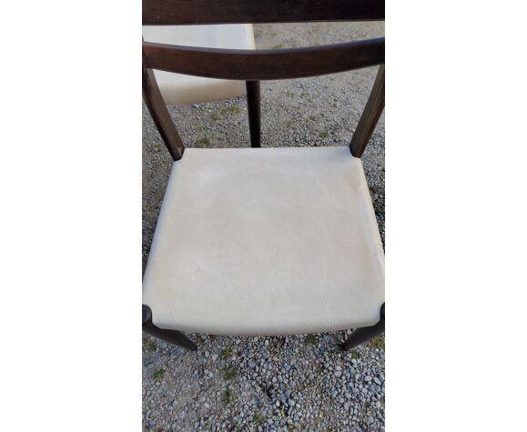 Set de 4 chaises de style scandinave des années 70
