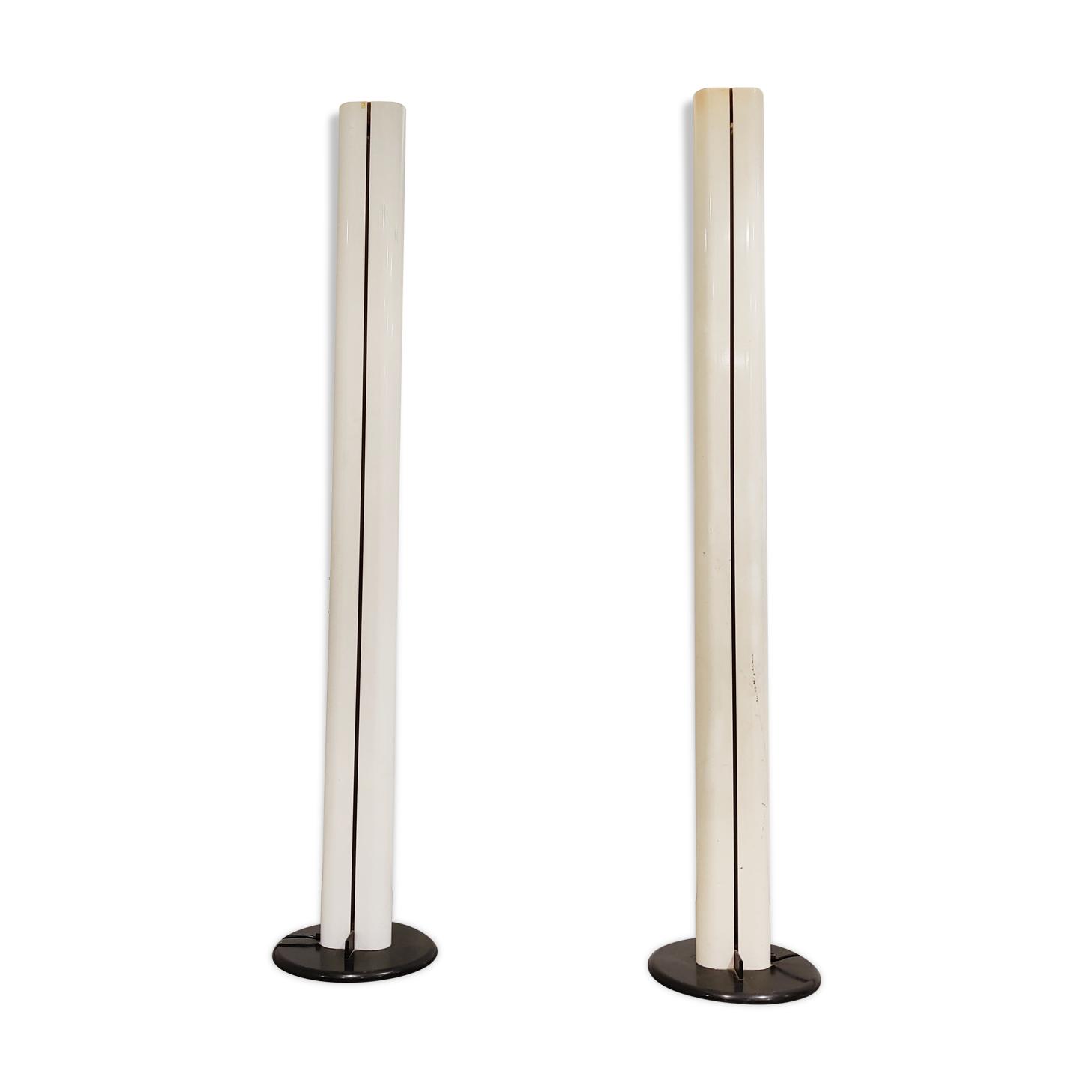 Paire de lampes Megaron de Gianfranco Frattini pour Artemide, années 1970