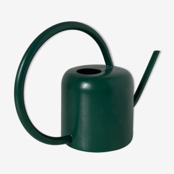 Arrosoir en métal laqué vert anglais