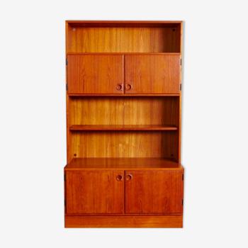 Bibliothèque danoise en teck