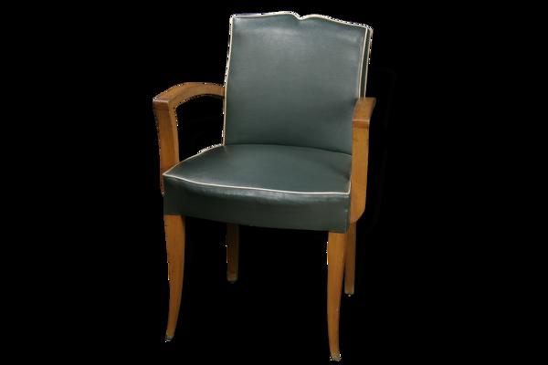 Série de 6 fauteuils bridge époque Art Déco