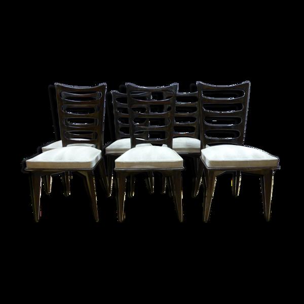 Selency Série de 6 chaises