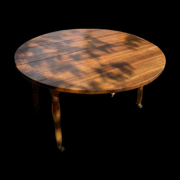 Table 6 pieds avec rallonges
