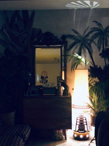 Lampe de sol années 70