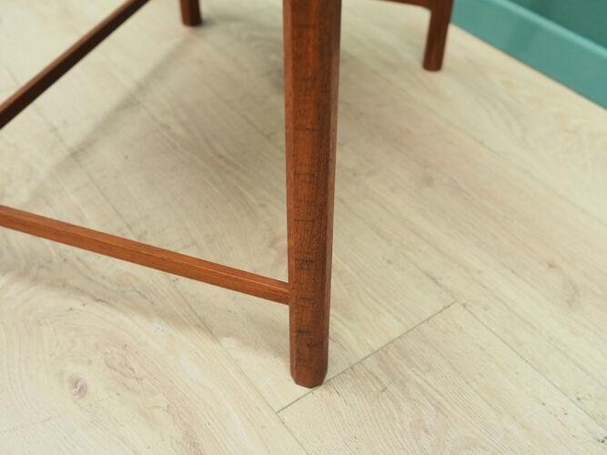 Set of three teak nesting tables, Danish design, 60's