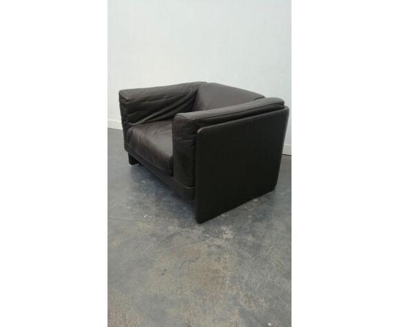 Paire fauteuils le capanelle par Tito Agnioli  pour Poltrona Frau 1980