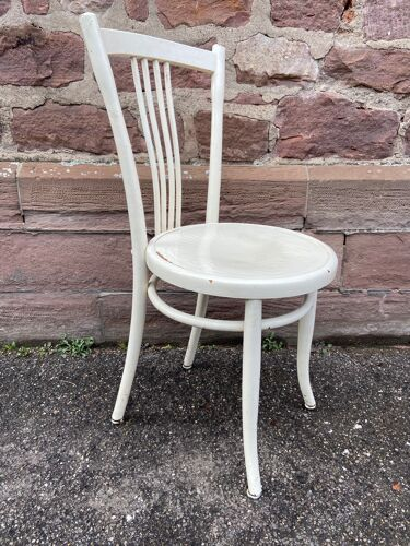 Chaise viennoise bois courbé  Türpe 1900er