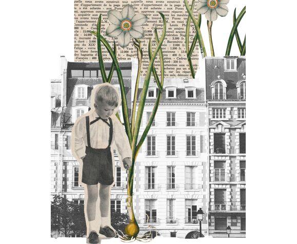 Print collage format a3 l'espiègle